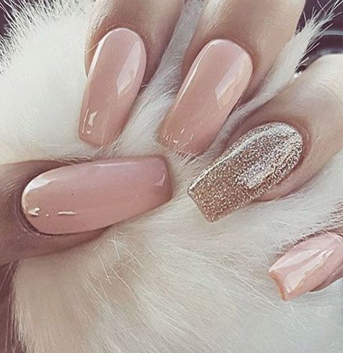 50 Beautiful Nail Designs To Try This Winter Nails Pink Nails Gorgeous Nails