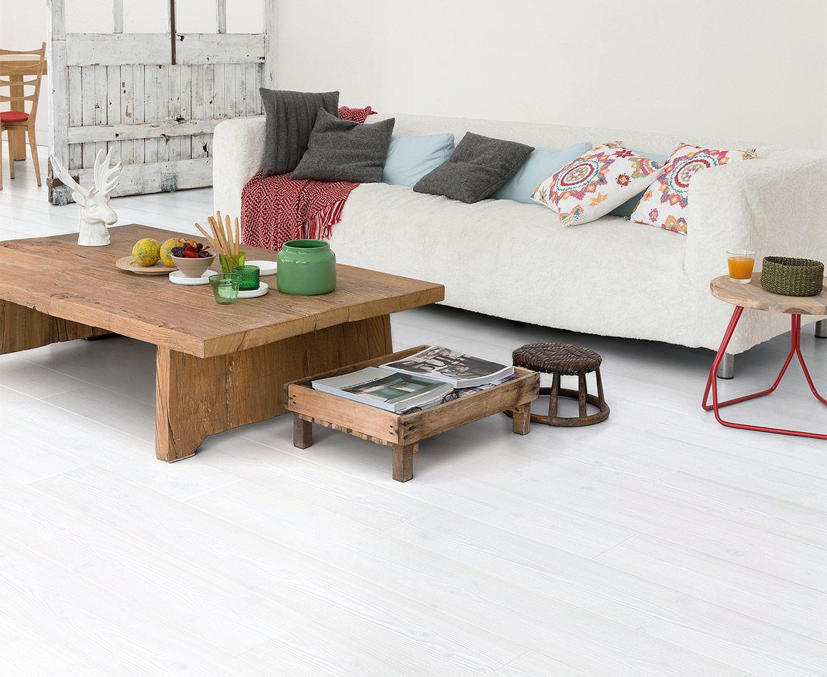 Laminaat white wash vloer inspiratie woonkamer vloeren laminaat