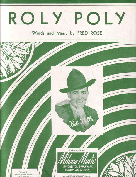 fred rose roly poly - Google Search