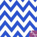 Fat Quarter -  Chevron 5