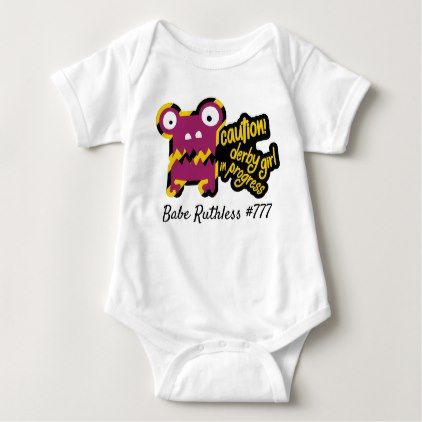 Roller derby baby bodysuit personalize it baby gifts giftidea roller derby baby bodysuit personalize it baby gifts giftidea diy unique cute negle Choice Image