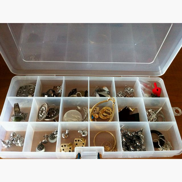 Earrings closet tackle box Tackle Box Inspiration