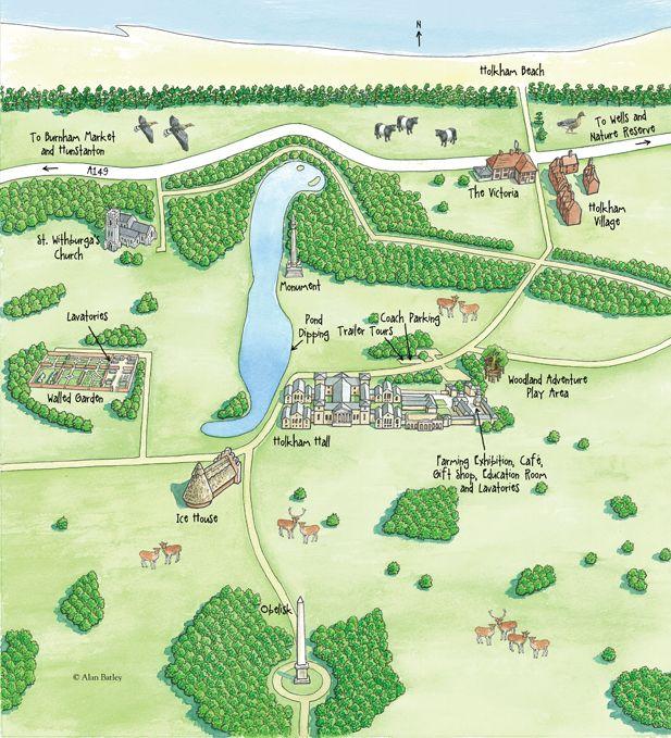 Teachers Area Education Holkham Hall And Estate North Norfolk England Norfolk Map Education