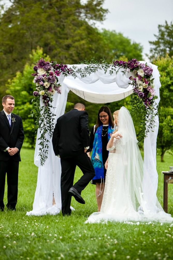 Interfaith wedding breaking the glass Interfaith wedding