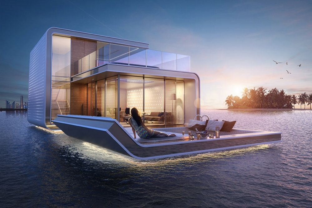 Dubai Is Set To Unveil Groovy Floating Apartments With Underwater Rooms