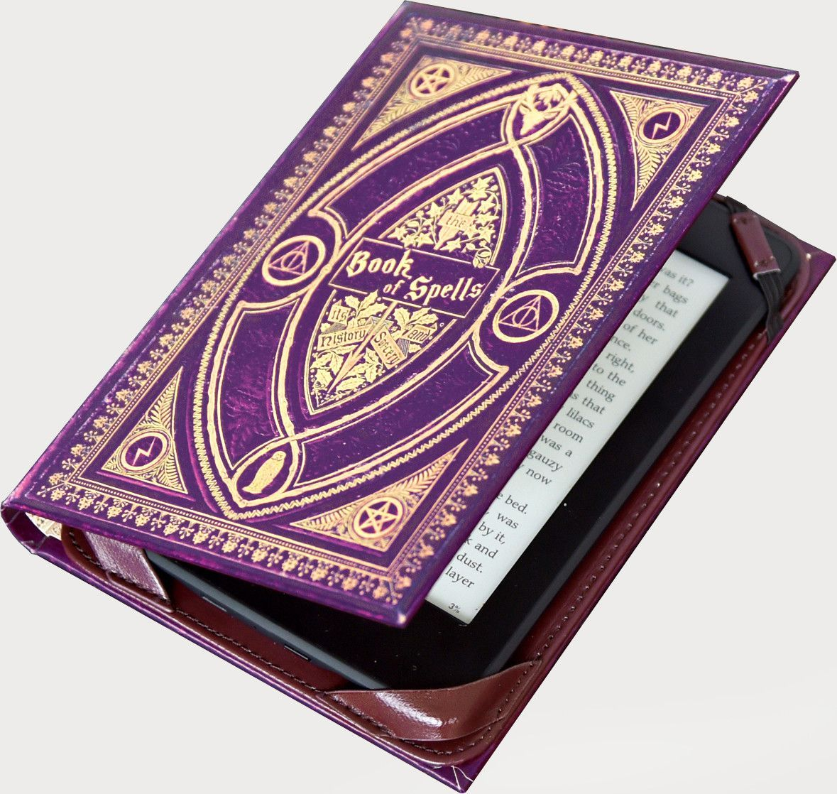 Amazon Libros Ebook Free Shipping Book Of Spells Ebook Holder Inspired By