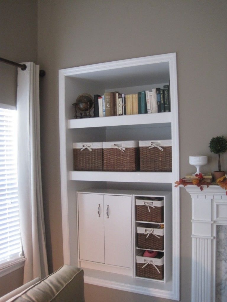 Alcove Living Room Decorating Ideas White Bookshelves In Niche Wall Great Shelving Units For Decoration Outstanding