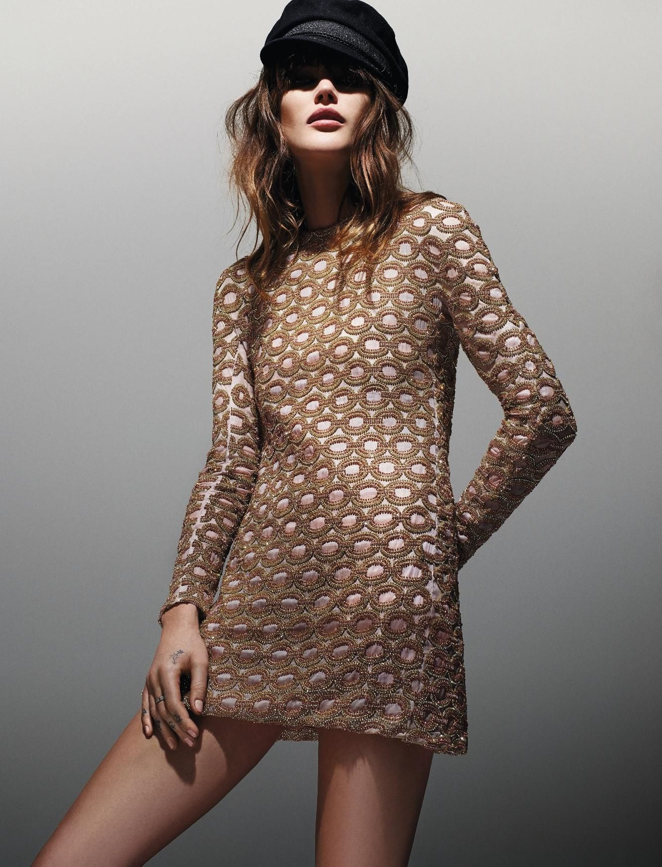 Catherine McNeil by Jean-Baptiste Mondino for Elle France March 2015 4