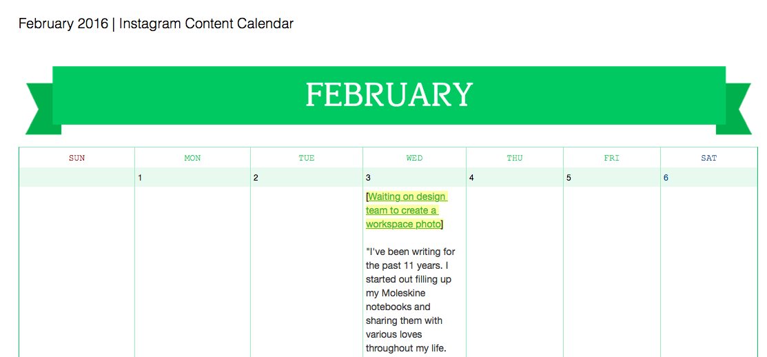 How To Win 2016 With Calendars Checklists And Note Links Evernote