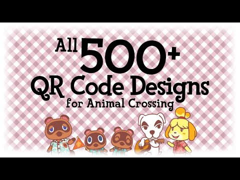 (2) All 500+ QR Code Designs Animal Crossing New