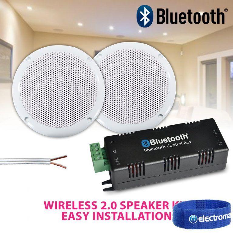 Bluetooth Ceiling Speaker Kit In 2019 Ceiling Speakers
