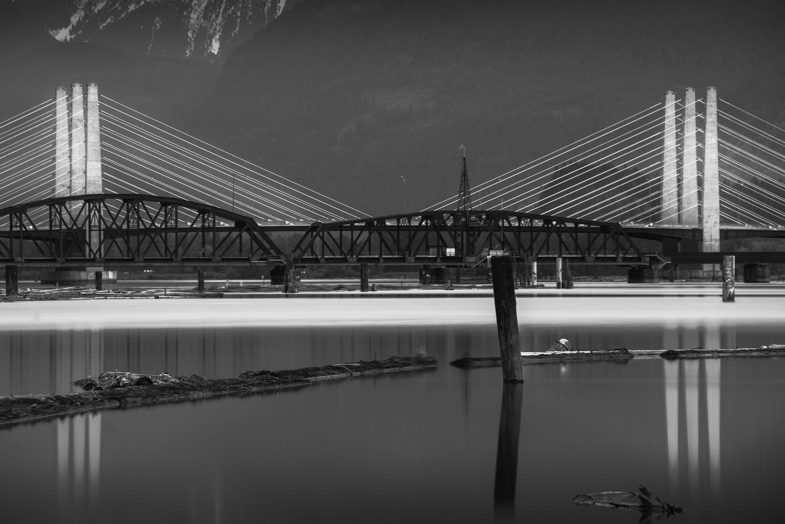 Bridges of the Pitt River