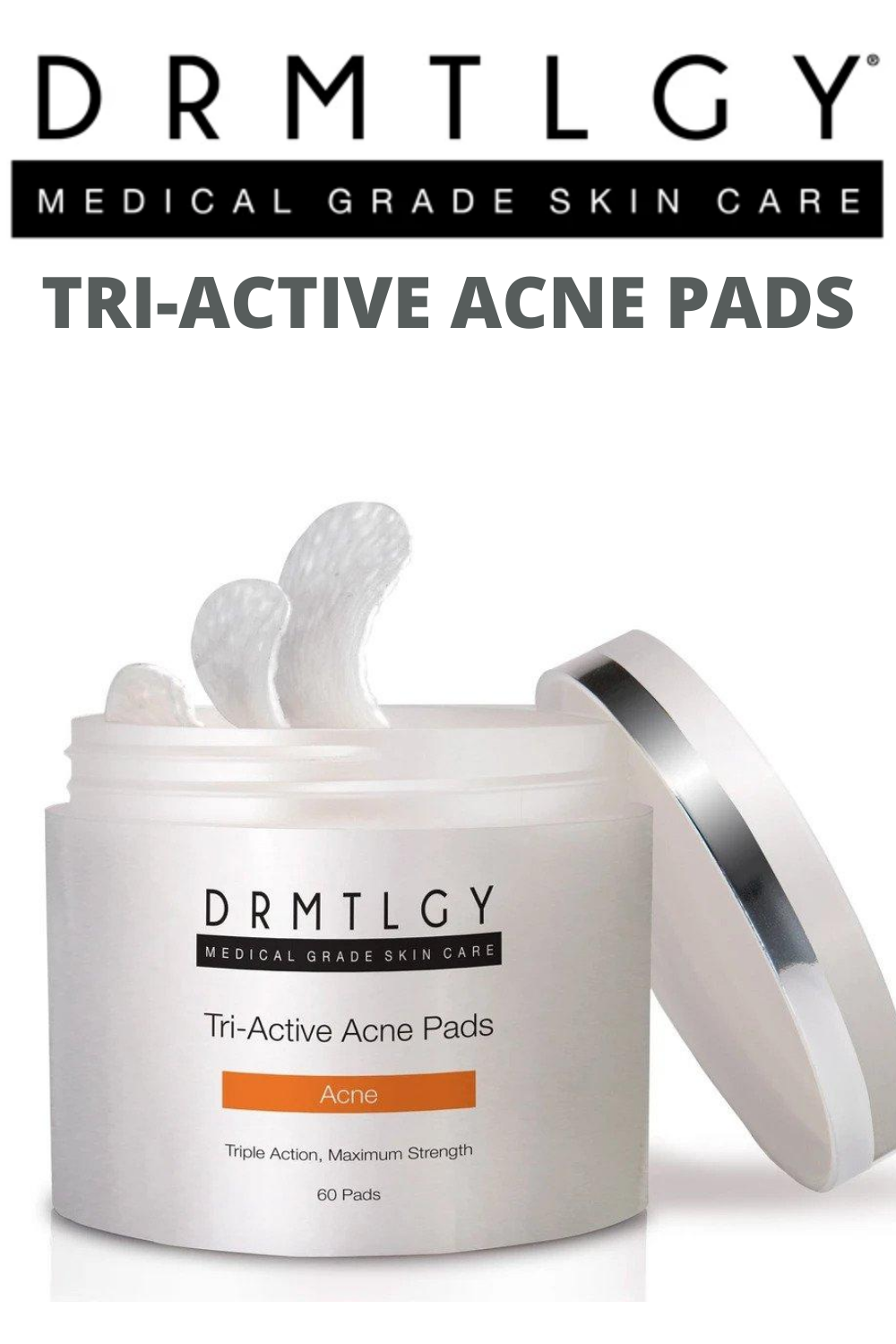 Tri Active Acne Pads In 2020 Acne Solutions Acne Acne Fighting