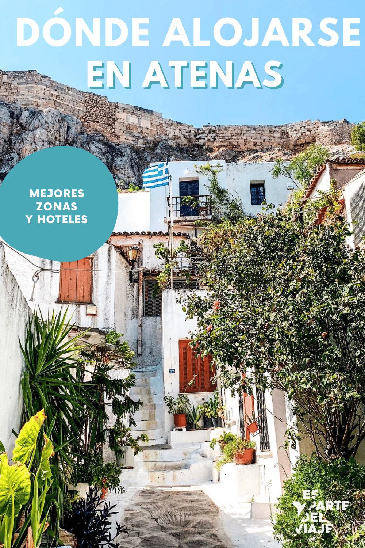 Dónde Alojarse En Atenas Mejores Zonas Y Hoteles Es Parte Del Viaje Atenas Viajes A Grecia Hoteles