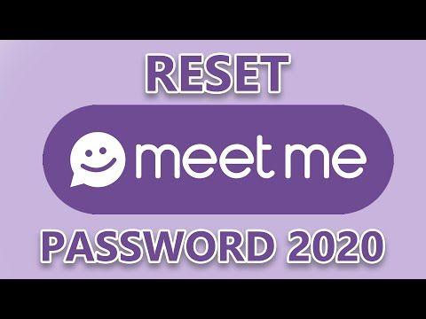 Reset MeetMe Account Password 2020 | Meet Me Login Account