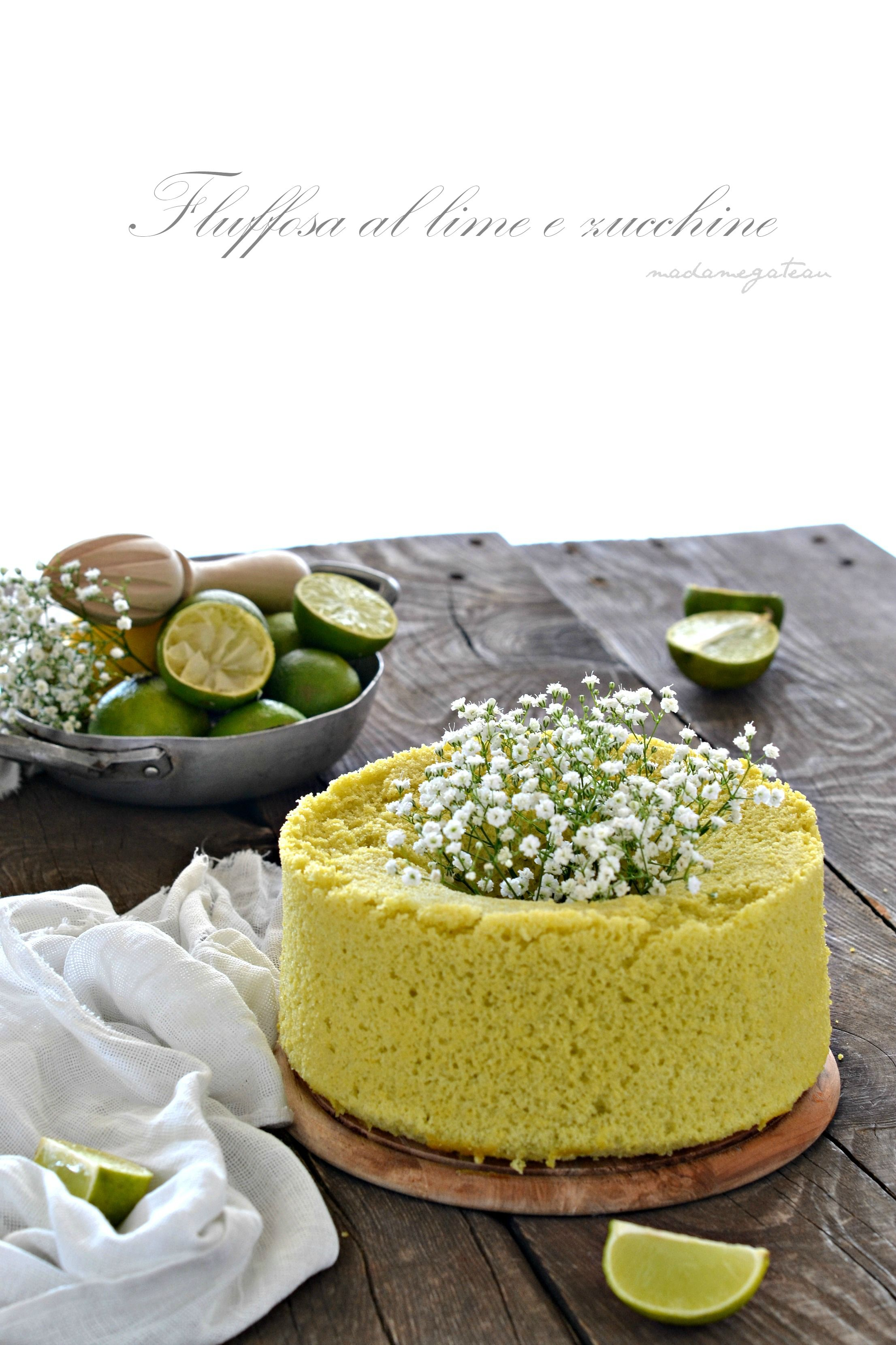 fluffosa al lime e zucchine
