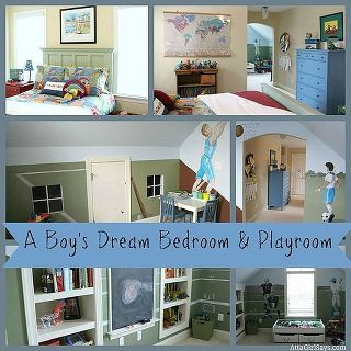 Attractive Dream Boy S Bedroom Amp Playroom, Home Decor, This Combined Playroom And  Bedroom Truly