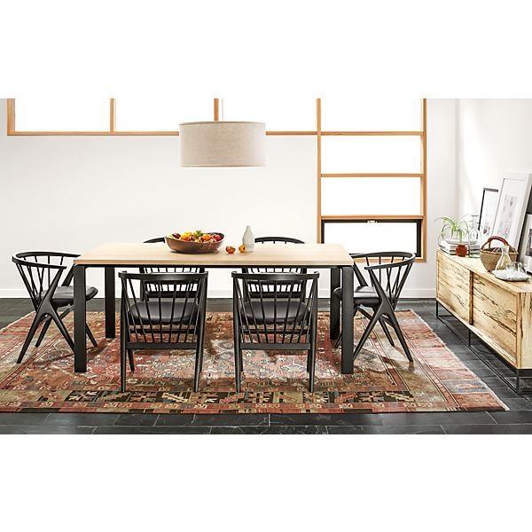 Rand Dining Table With Soren Chairs  Modern Dining Room Furniture Captivating Dining Room Chairs Contemporary Design Decoration