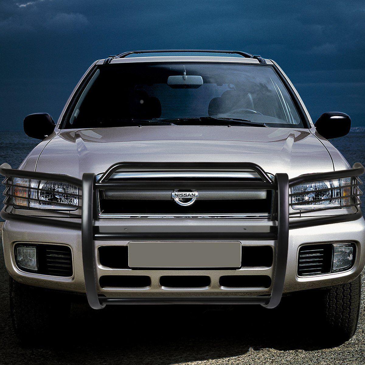 96 04 Nissan Pathfinder R50 Front Bumper Protector Brush Grille Guard Black Vehiculos Todoterreno Camionetas 4x4 Autos