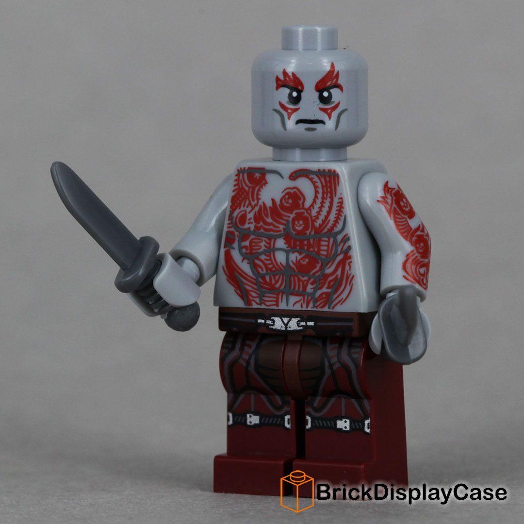 Drax - Guardians of the Galaxy - Lego 76021 Minifigure