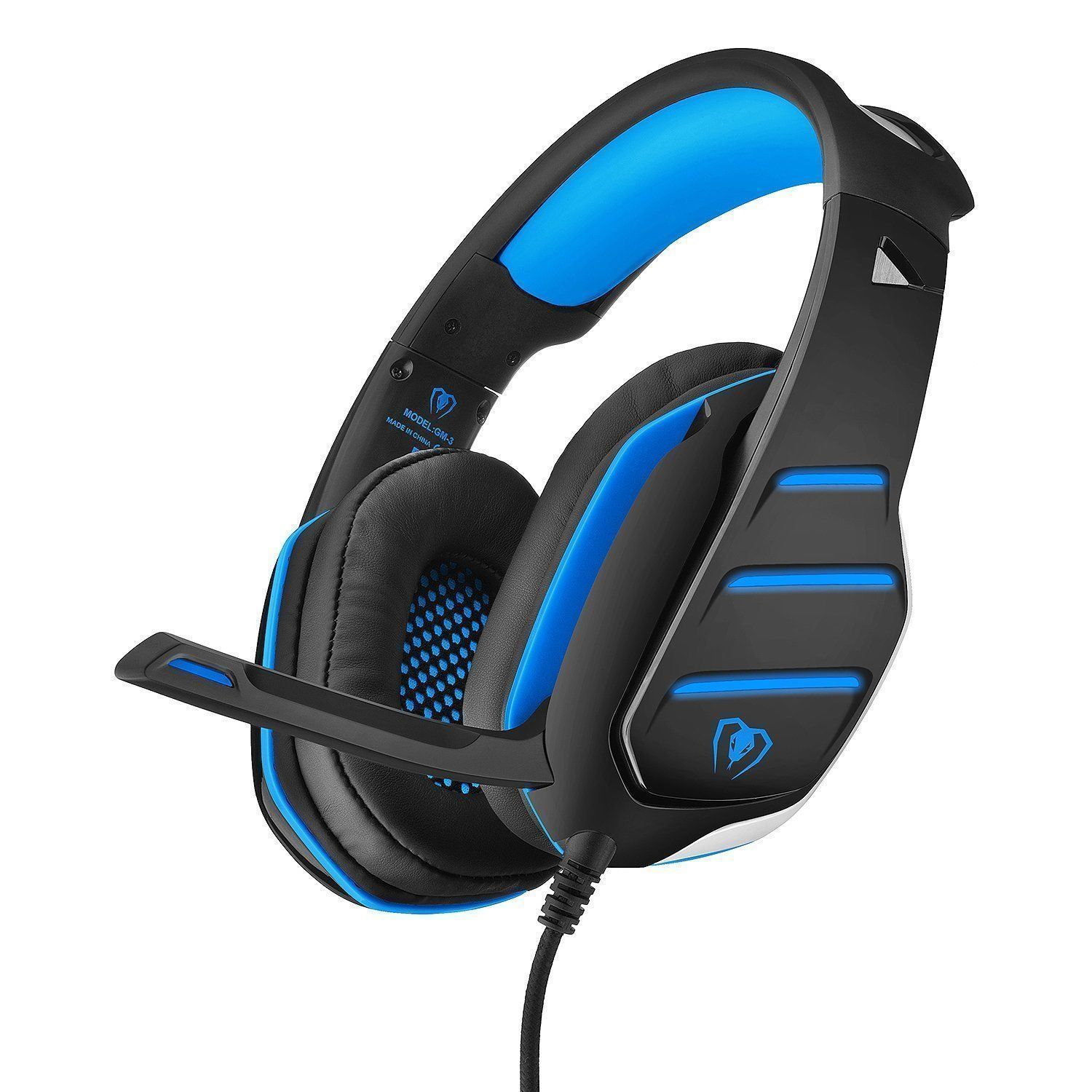 PC Gaming Headset 2017 TopBest Beexcellent GM-3 Wired Stereo LED ...