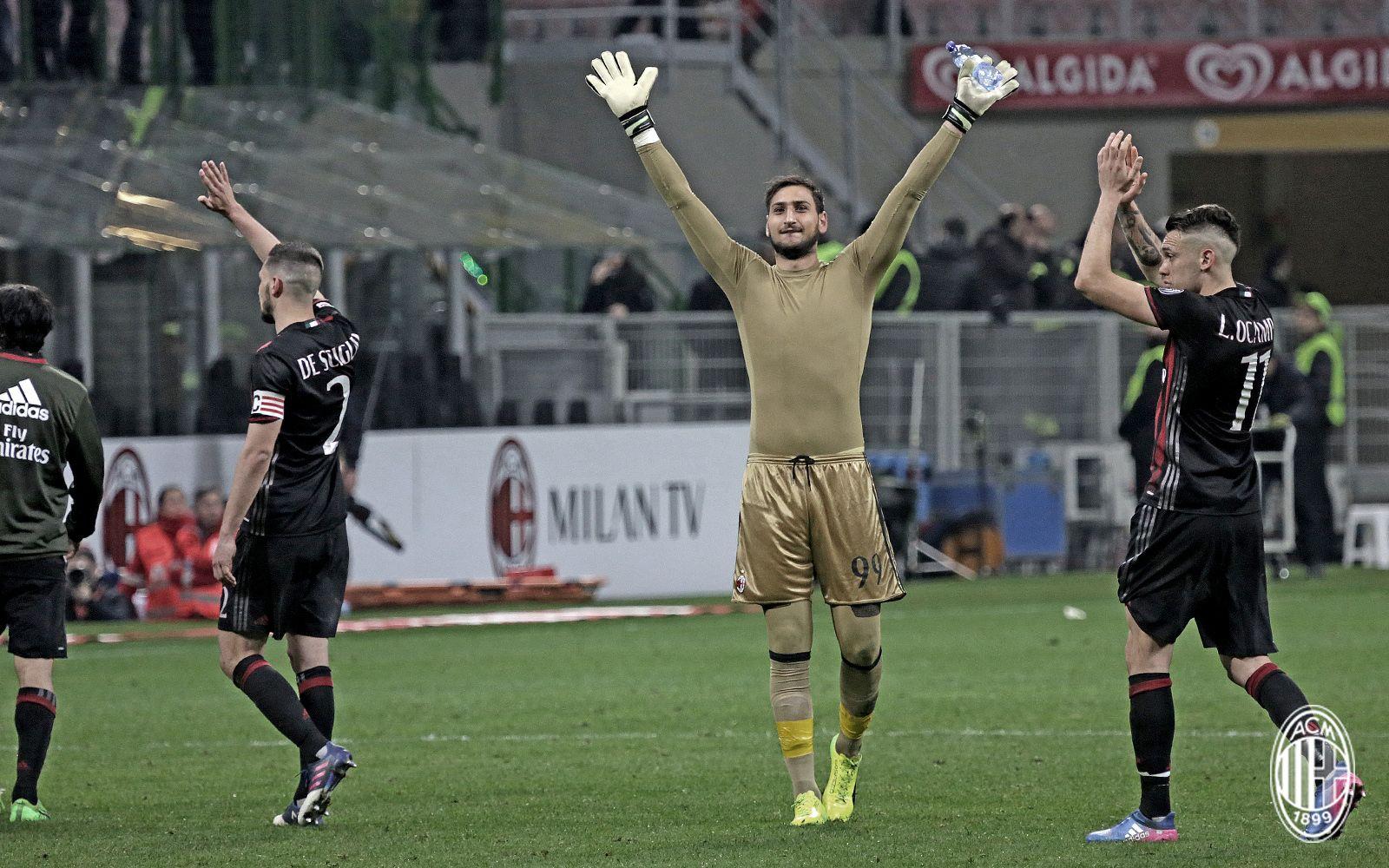 AC Milan-Genoa, Serie A TIM 2016/17   AC Milan