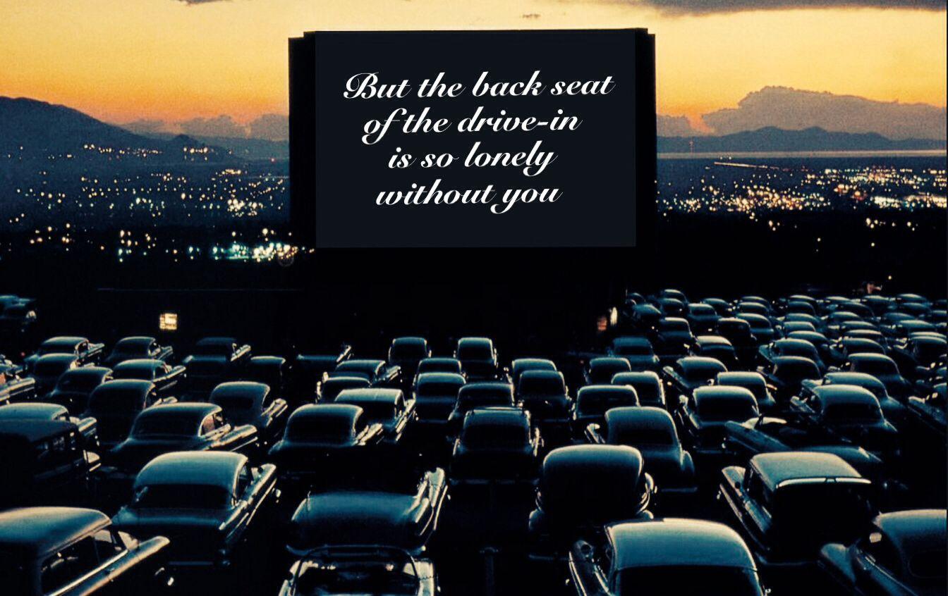 Misfits saturday night drive in movie theater drive