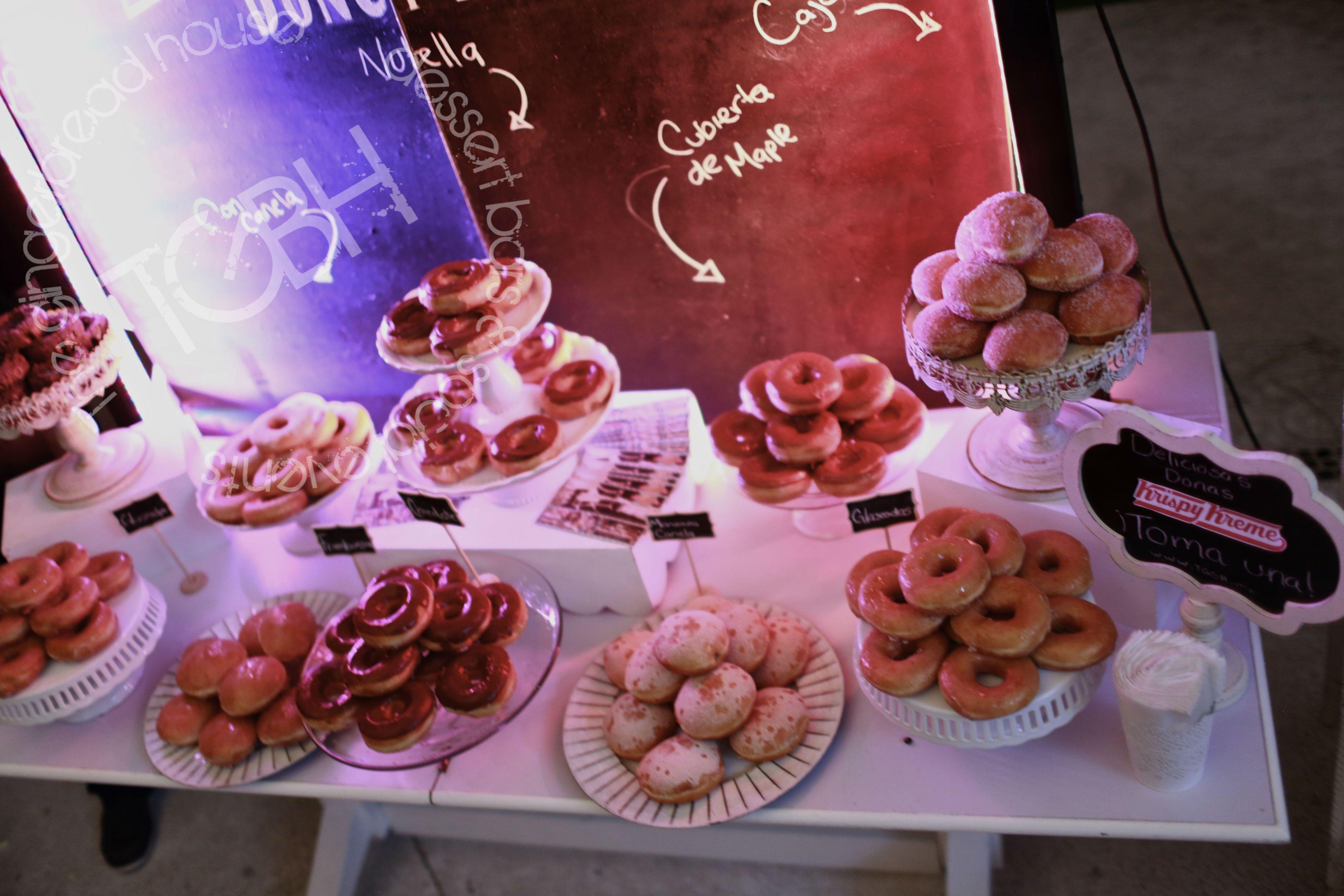 Donut bar wedding, krispy kreme donuts | Donut bar wedding ...