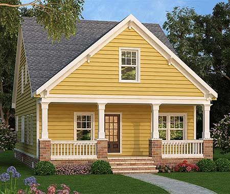 Plan 75532gb narrow lot cottage house pinterest for Cottage house plans for narrow lots