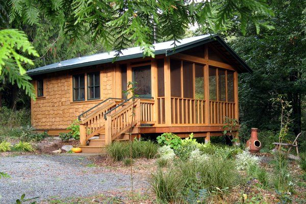 Incroyable Spaces · The Foxglove Cabin On Whidbey Island ...