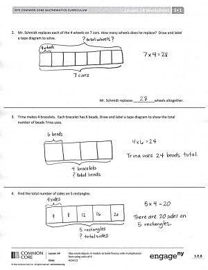 Tape Diagram in Math | Common Core | Helen's School Board