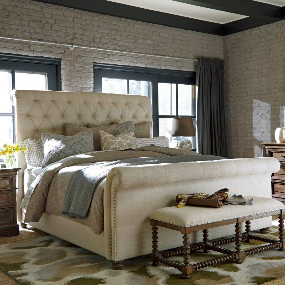 Tufted Sleigh Bed Universal Furniture Bedroom Universal