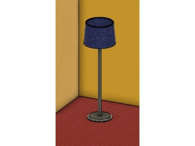 Doll House Stuff Lamp By Taigar Thingiverse In 2020 Doll House Lamp Dolls