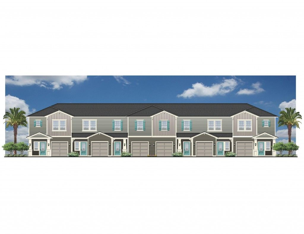 Neighborhood: The Palms TownHomes; Model: The Loggerhead   End Unit    Builder: