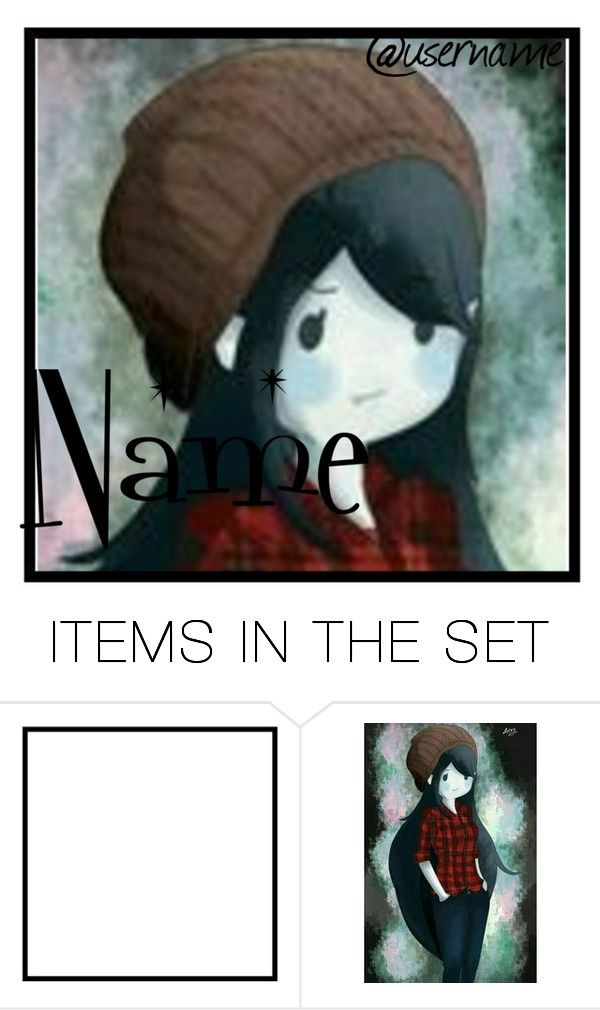 """""""Marceline icon"""" by jackfrost1904 ❤ liked on Polyvore featuring art"""