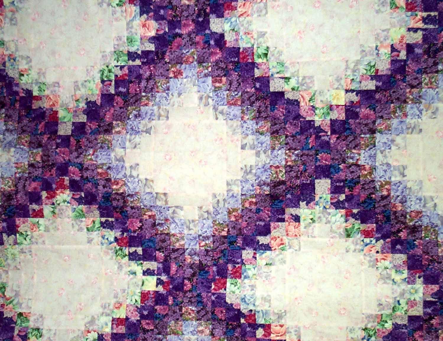 colorwash triple irish chain   IRISH CHAIN QUILTS   Pinterest ... : triple irish chain quilt pattern - Adamdwight.com
