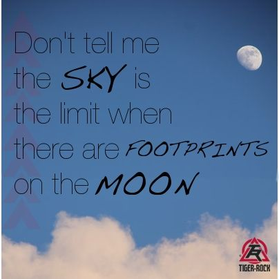 Reach For The Moon Inspiration For Tiger Rock Martial Arts