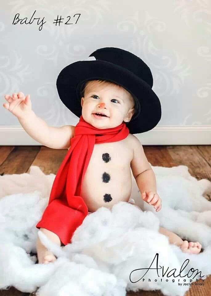 Baby Christmas Picture Ideas Pinterest