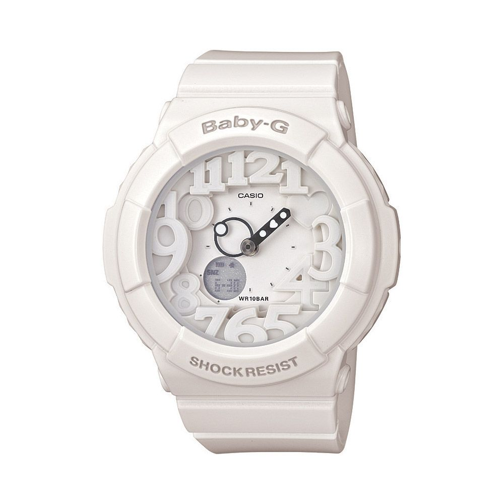 Casio : CASIO BABY-G, UV BACKLIGHT, STOPWATCH, WORLD TIME, 5 ALARMS, 100M WATER RESISTANT