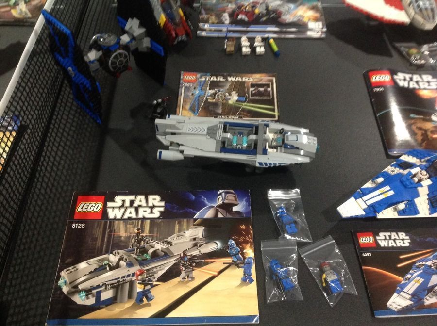 Lego Star Wars Lot 1 11 Sets With Instructions Some Minifigs