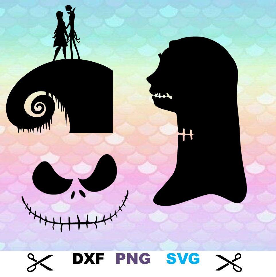 10 Nightmare Before Christmas Images Pumpkin King Svg Monogram Image ...