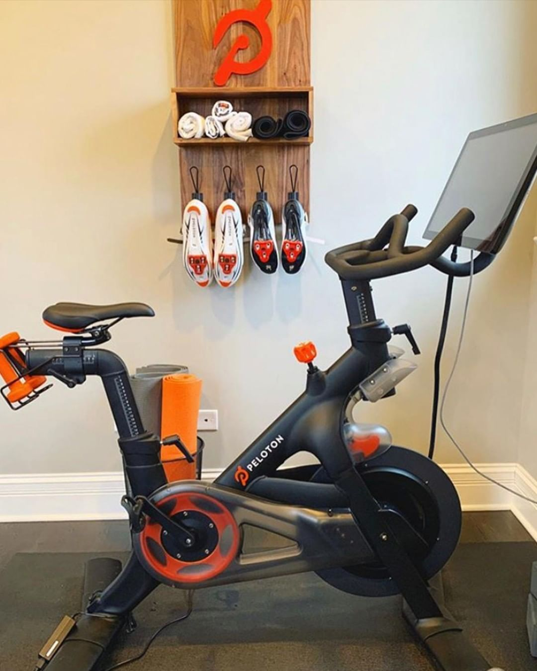 Peloton Onepeloton Instagram Photos And Videos In 2020 Workout Room Home Gym Room At Home Peloton
