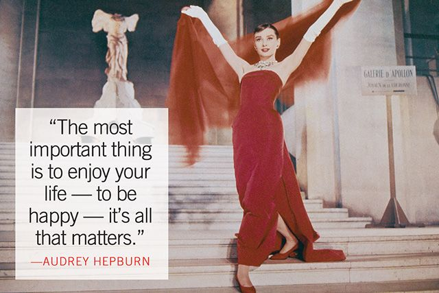 Audrey Hepburn most glamourous quotes by Marie Claire, fashion furniture sexy furniture