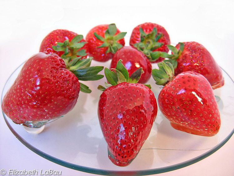 Make Glazed Strawberries Recipe in 2020 Fruit tart