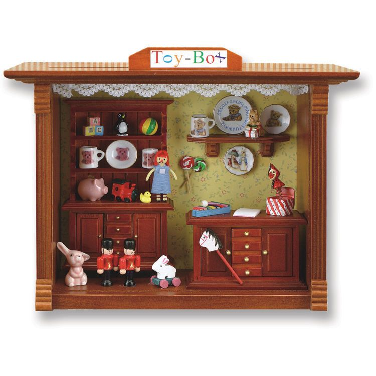 Decorative Shadow Boxes Inspiration Miniature Germany Toy Room Display Shadow Box Decorative Decorating Inspiration