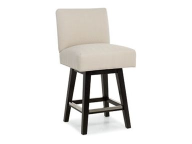 Shop For Larren Grey Beasley Swivel Counter Stool 3076 Sw And