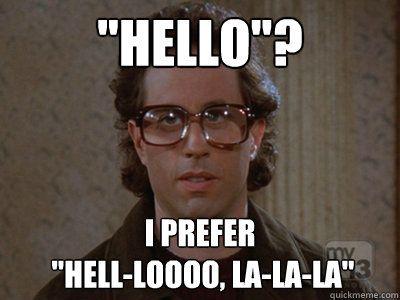Funny Meme Hello : Say hello by recyclebin meme center
