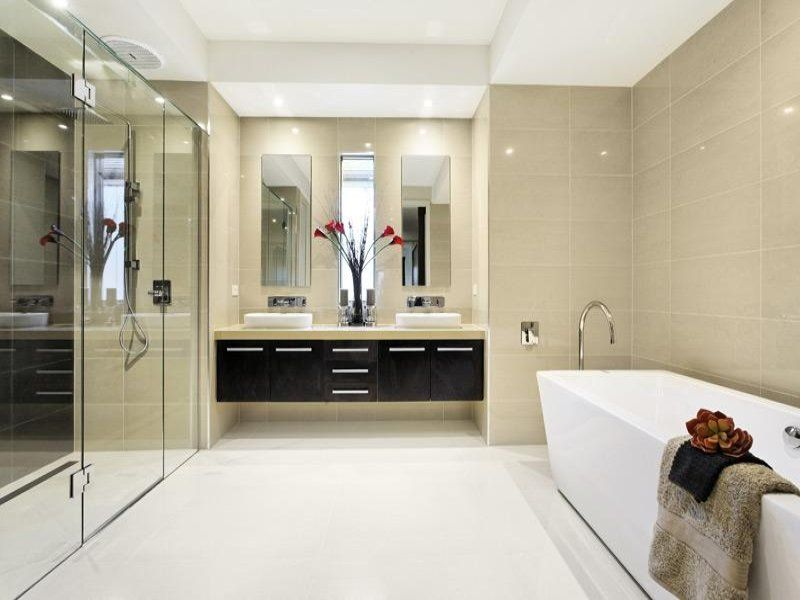 Ceramic In A Bathroom Design From An Australian Home   Bathroom Photo 336485