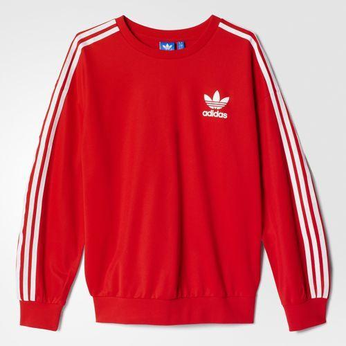adidas Beckenbauer Sweatshirt - Tomato   adidas Nederland