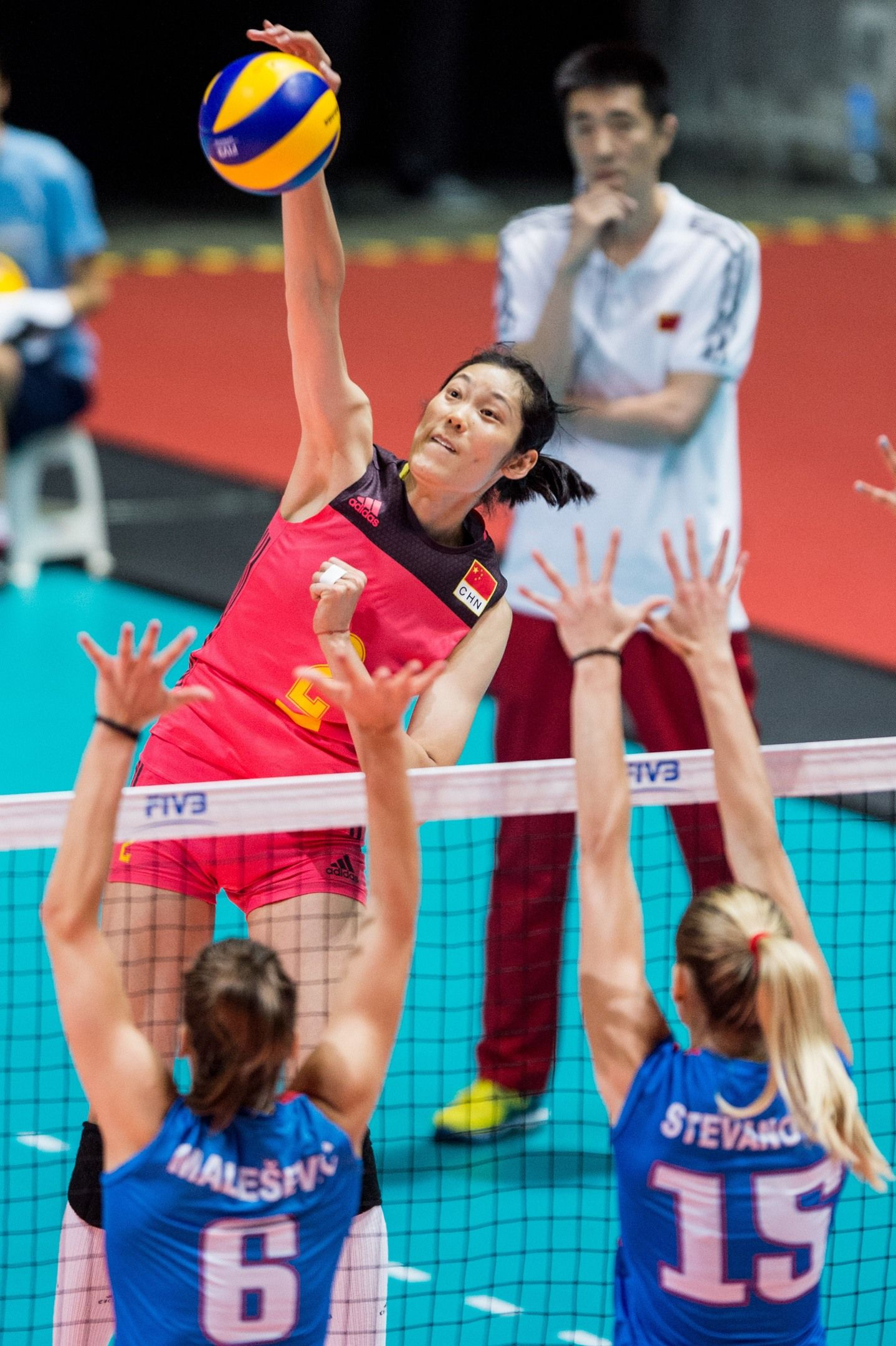 China S Olympic Mvp Zhu Ting I Dont Think Im A Star Olympic Volleyball Volleyball Players Olympics